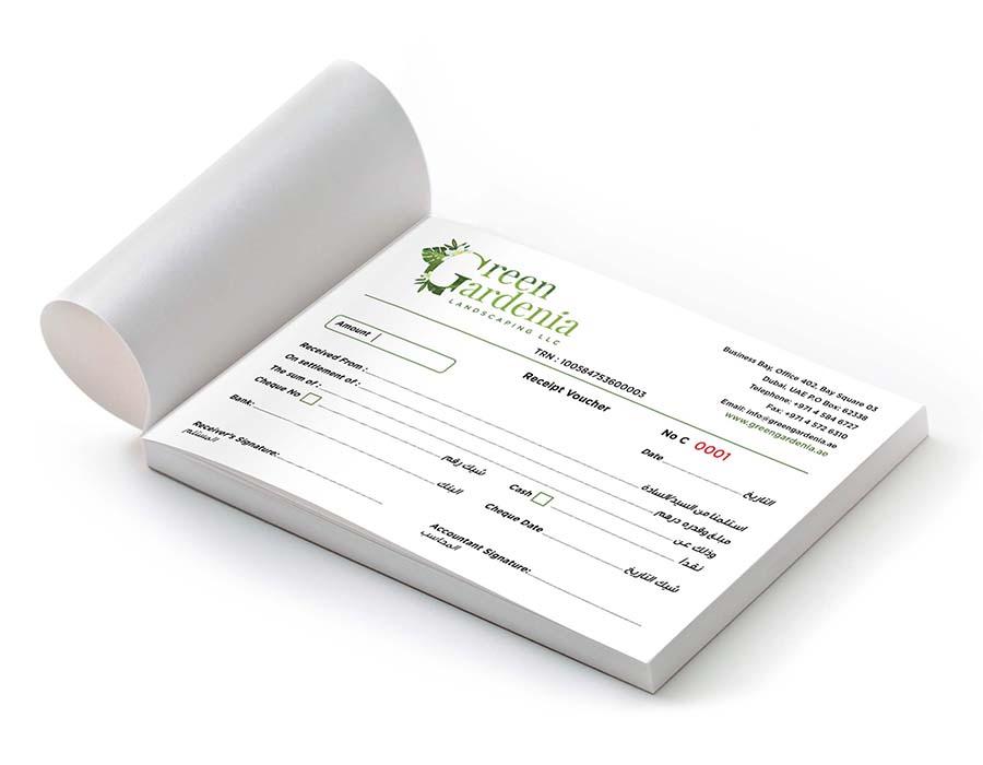 Payment vouchers Printing in Dubai, Abu Dhabi